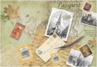 Обложка для паспорта Письма 20027